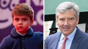 Egészen elképesztő, mennyire hasonlít Lajos herceg a nagyapjára