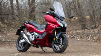 Bemutató: Honda Forza 750 - 2021.