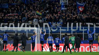 Az Atalantát választották az elmúlt idény legjobb olasz futballcsapatának