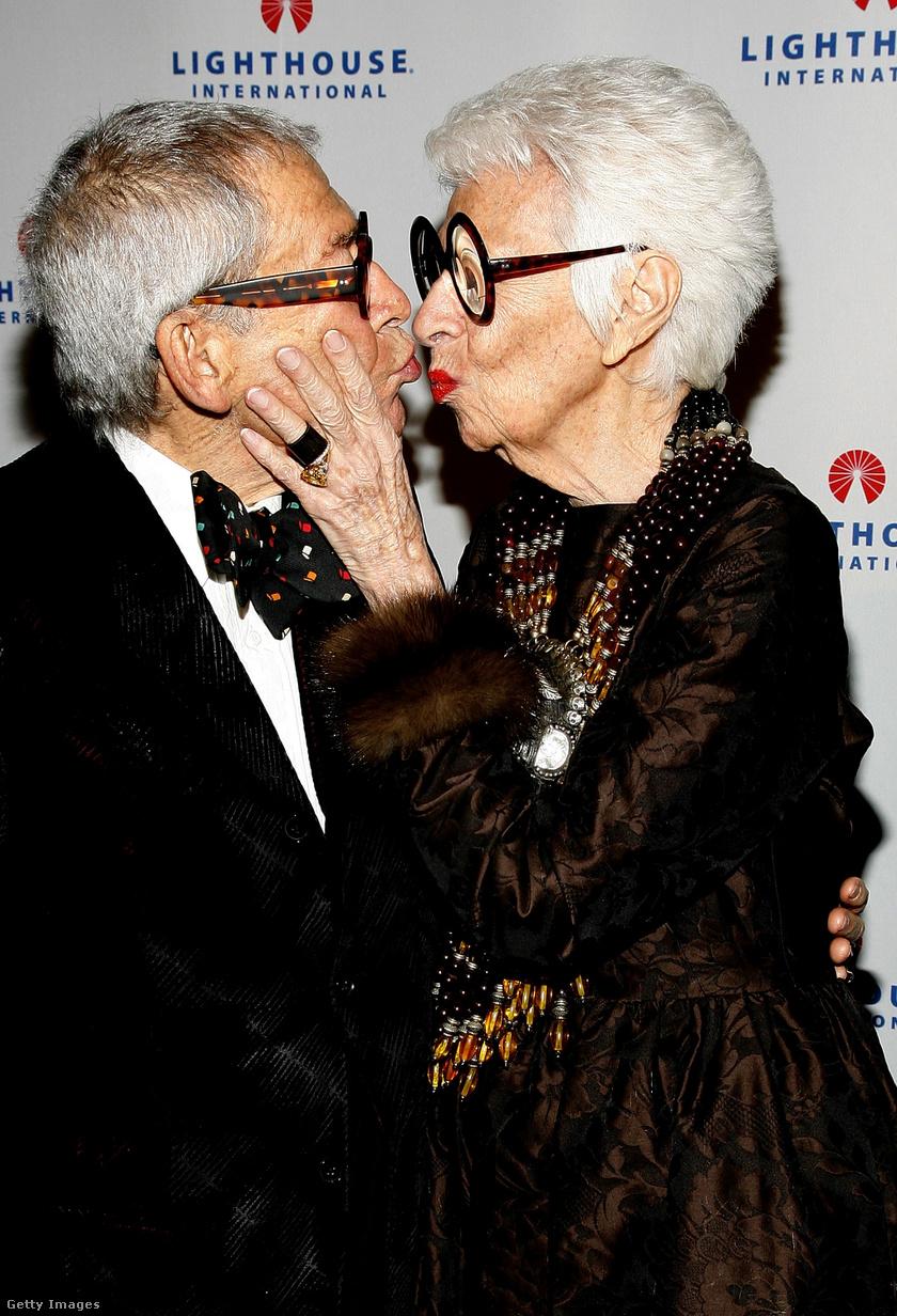 Iris és Carl 2008-ban.