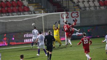 A hosszabbításban mentett pontot a Kisvárda az Újpest ellen