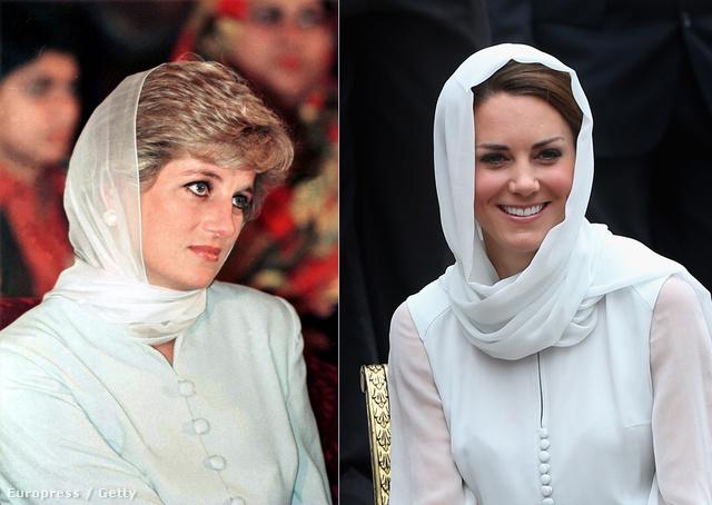 Diana 1996-ban, Katalin 2012-ben