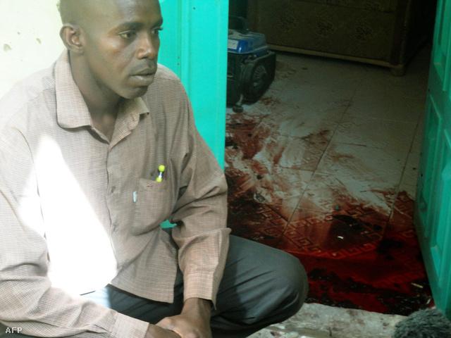 A Boko Haram egyik tagjának unokatestvére egy rendőrségi rajtaütés után.