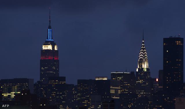 Az Empire State Building itt még a hagyományos izzókkal