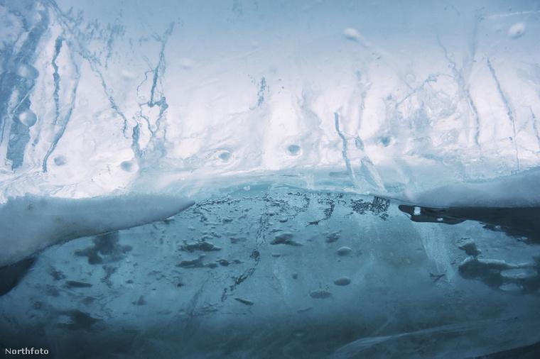 Jég, jég mindenütt.