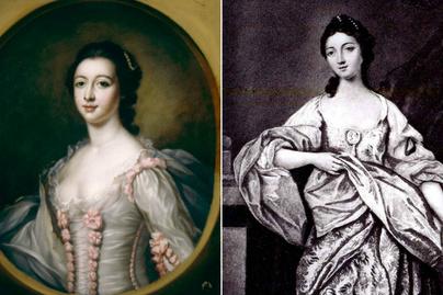 maria gunning portrék
