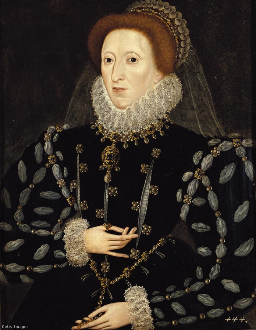 Nicholas Hilliard: I. Erzsébet, 1575 körül.