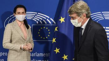 A belarusz ellenzék kapta az Európai Parlament Szaharov-díját