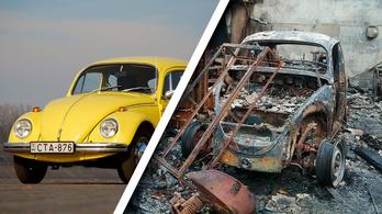 Elenyészett egy autószerelde a tűzben. Siratja a bogaras, fiatos és puchos társadalom