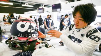 Ismét lesz japán versenyző a Formula–1-ben