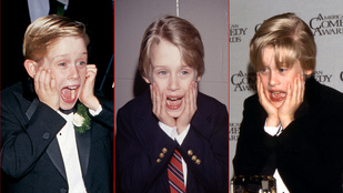 Macaulay Culkin annak idején folyton úgy pózolt, mint a Reszkessetek, betörők! plakátján