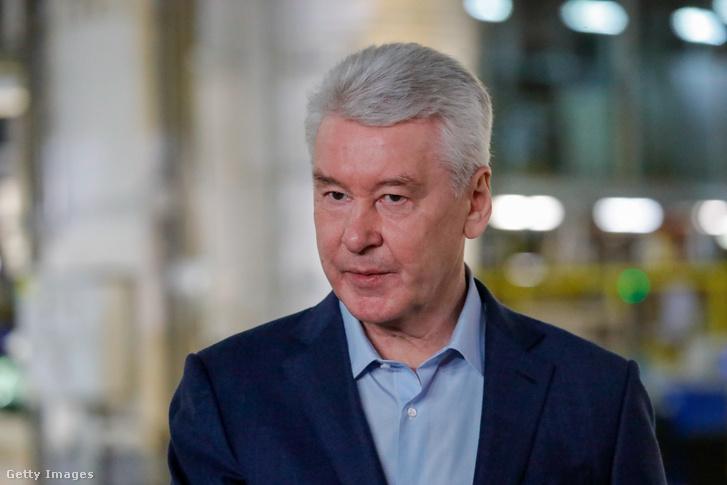 Szergej Szobjanyin Moszkva polgármestere