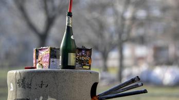 Tilos a petárdázás szilveszterkor, 150 ezer forint is lehet a büntetés