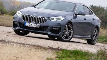 Menetpróba: BMW 220d Gran Coupé – 2020. Év Autója-menet