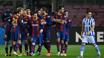 A listavezető legyőzésével kapaszkodik a Barcelona