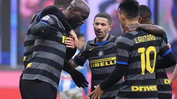 Rangadót nyert az Inter, már csak egy pont a hátránya a Milan mögött