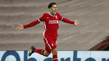 A Liverpool a hajrában nyerte meg a csúcsrangadót