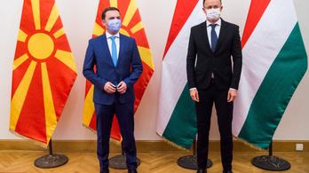 Szijjártó Péter szorosabbra a fűzi a kapcsolatokat Észak-Macedóniával