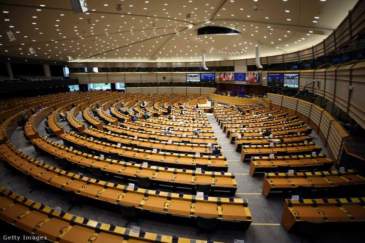 Az Európai Néppárt ülése az Európai Parlamentben 2020. júliusban