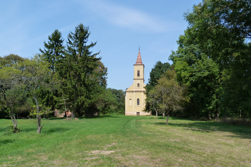 Katolikus templom, Szentgyörgyvölgy.