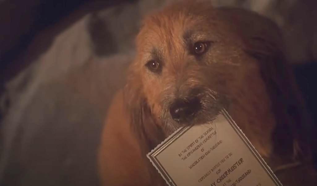 Ez a cuki kutyus melyik karácsonyi filmben bukkant fel?
