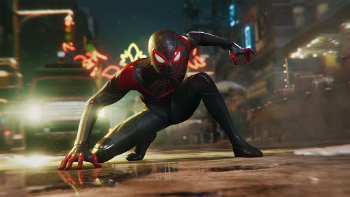 Spider-Man Miles Morales (Forrás: Sony)