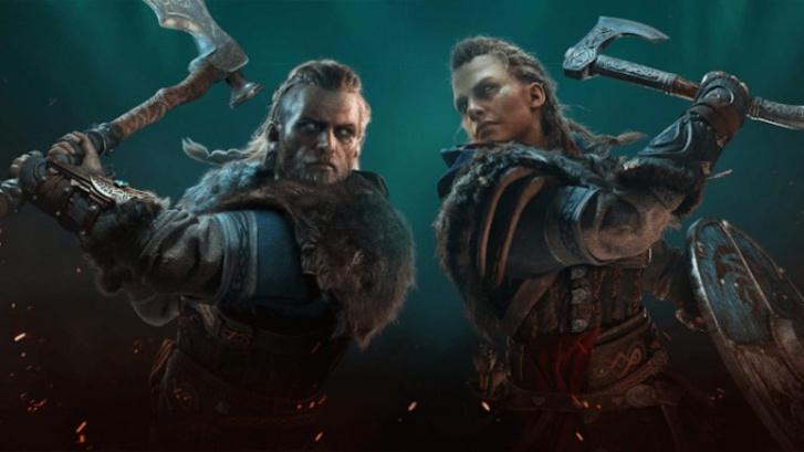 Férfi vagy női főszereplőt is választhatsz, és a játék közben is cserélhetsz közöttük az Assassin's Creed Valhallában. (forrás: Ubisoft)