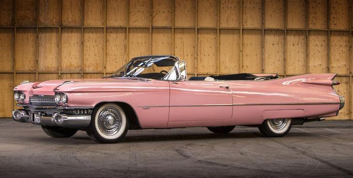 """A """"hamis"""" 1959-es pink Cadillac"""