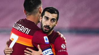 76 percig emberelőnyben játszott, simán nyert a Roma