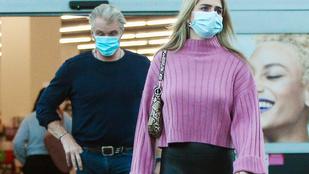 Dolph Lundgren menyasszonyán akadt kihívója J-Lo ultraszűk leggingsének