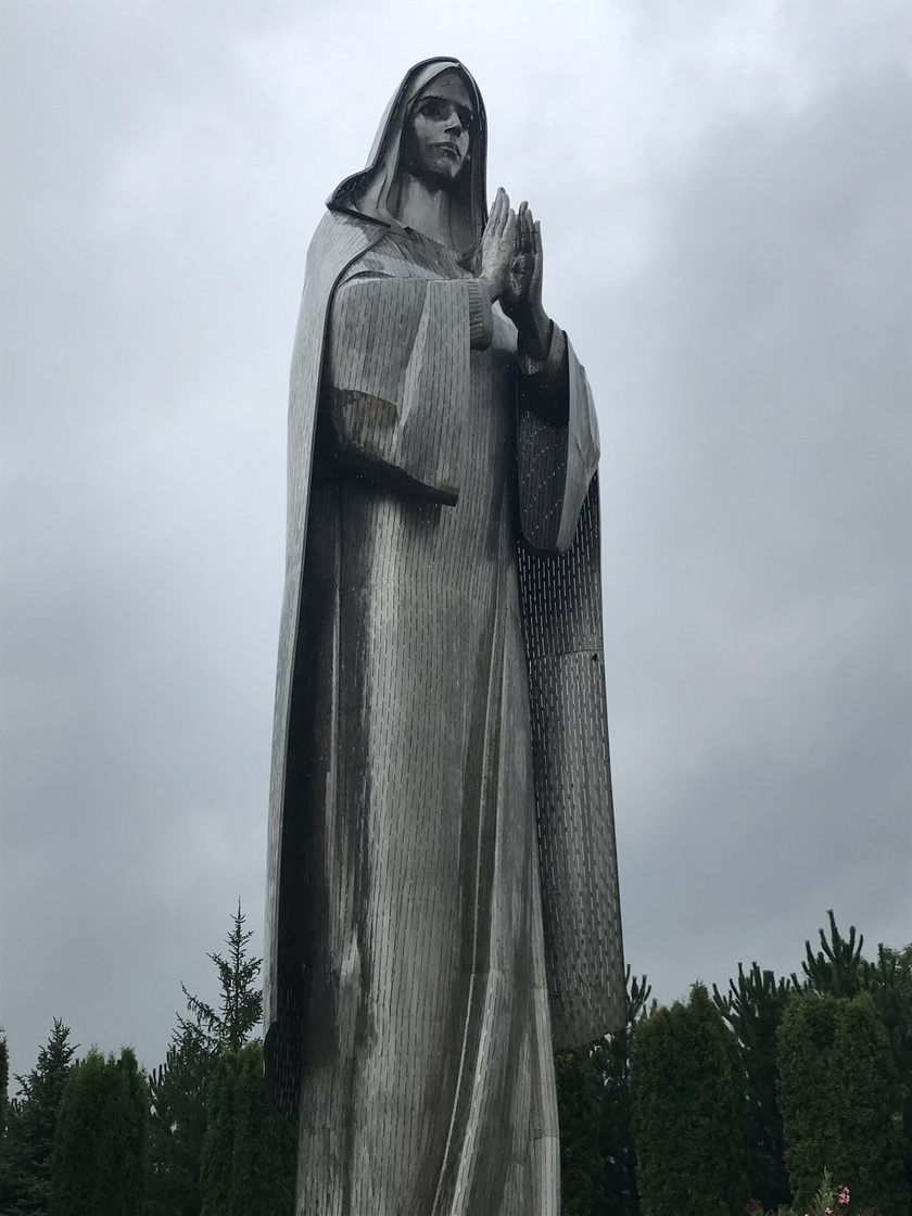 A Mária-szobor Hercegszántón