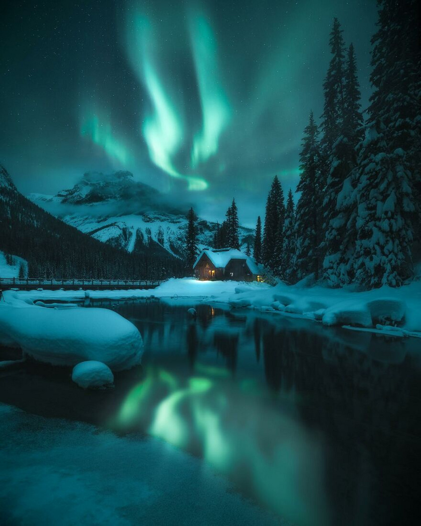 Parker Burkett: A kanadai ég alatt / Brit Columbia, Kanada
