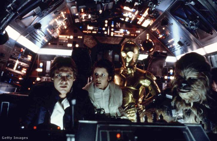 Jelenetkép a Csillagok háborúja: A Birodalom visszavág című filmből