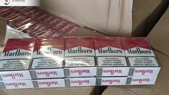 Hetvenhétmilliót érő cigaretta volt az utcai árusoknál