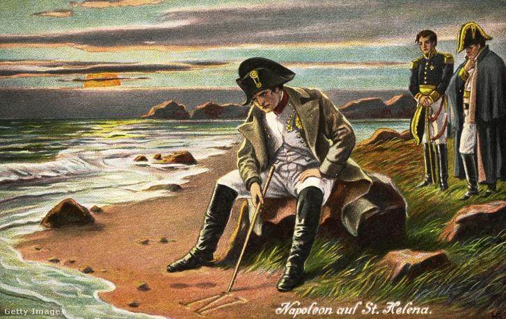Bonaparte Napóleon Szent Ilona szigetén