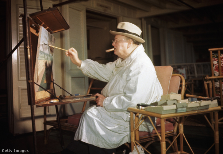 Churchill 1946-ban