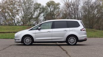 Használtteszt: Ford Galaxy III 2.0 TDCi, Titanium - 2017.