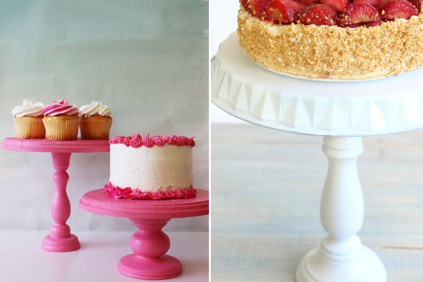 Így készül az ötperces tortatál: szuperül mutat rajta a süti, és a kétbalkezeseké is profi lesz