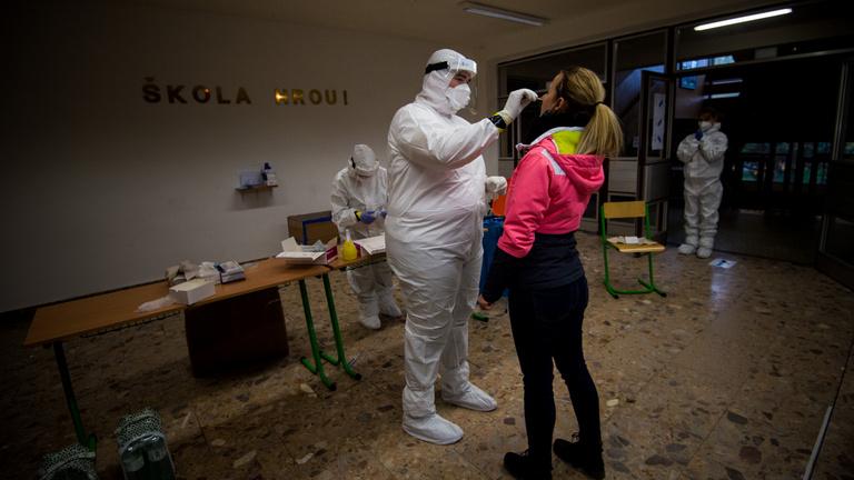 Covid–19: szomorú szlovák halálozási rekord