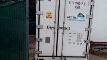 Halotthűtő konténerekkel készülnek a legrosszabbra Nyíregyházán