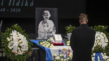 Eltemették Pécsi Ildikót