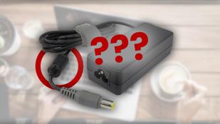 Mi az a kis hengeres bunkó a laptopkábelen?