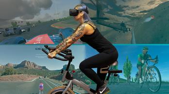 VR-sisakkal a fejeden akarsz szobabiciklizni? Lehet!