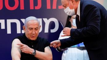 Példamutatás: az elnököt oltották be először Izraelben