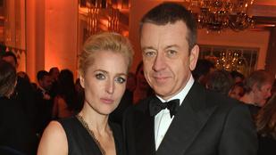 Gillian Anderson 4 év után szakított párjával, akivel együtt is dolgozott