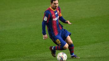 Pelé gratulált Messinek rekordja beállításához