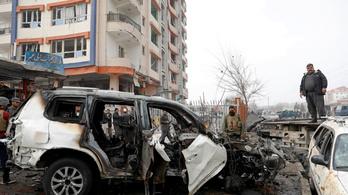 Pokolgép robbant az afgán fővárosban, nyolcan meghaltak