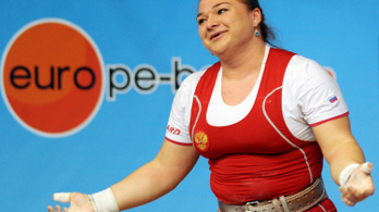 Doppingolás miatt felfüggesztették a világbajnok orosz súlyemelőt
