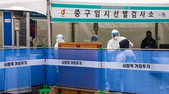 Öt napja ezer fölött az új fertőzöttek száma