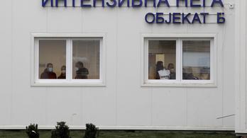 A szerb tesztek csaknem harmada fertőzést igazol